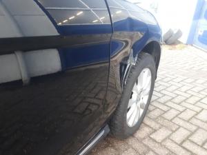 Mercedes Benz GLE beschadigd
